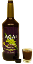 Acai Berry Juice Bottle